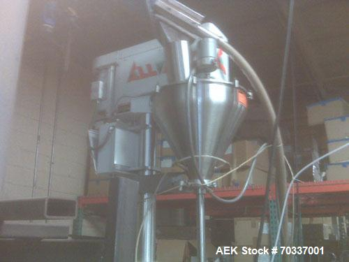 Used- Parson-Eagle Phaser vertical form fill and seal machine with all fill auger powder filler capable of speeds up to 60 b...