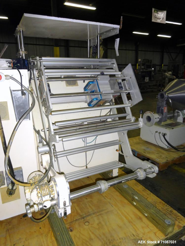 Used- Ilapak Vegatronic Model VT-300-P Vertical Form, Fill & Seal Machine