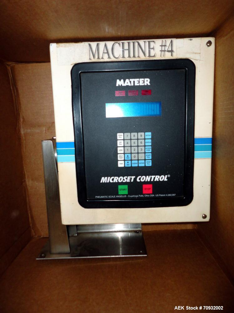 Used- Keypak V300B Vertical Form Fill Seal Machine with Mateer 1900 Auger Filler