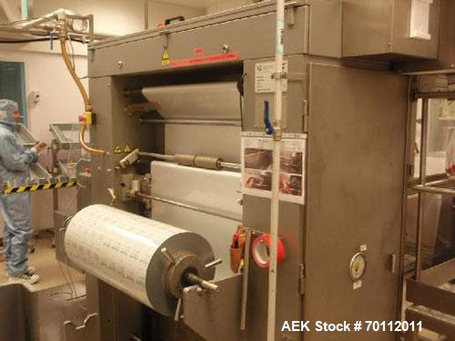 Used-Stainless Steel Marchesini MS 235 Vertical Sachet Machine