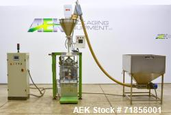Used- Imanpack Model M80 Vertical Form Fill Seal Machine