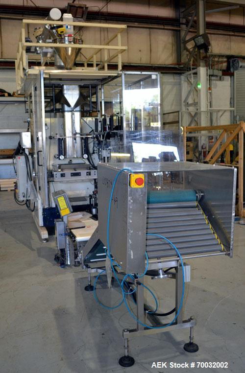 Used- Prewa Form, Fill and Seal Machine, Large Bag Format 1/2 Liter to 25 Liter