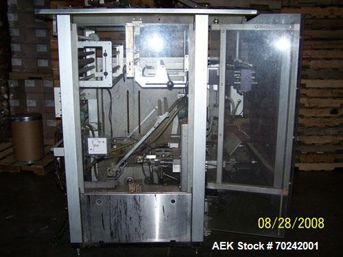Used-Bosch Model SVK-3600 Vertical Form, Fill, Seal Machine capable of speeds up to 80 bags per minute. USDA washdown system...