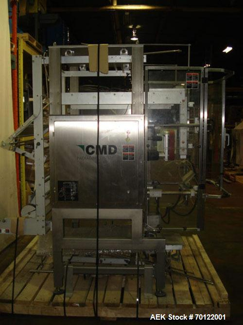 Used-CMD Packaging Systems Form Fill and Seal Machine, Model IM380RH. All stainless steel and aluminum construction. Last ru...