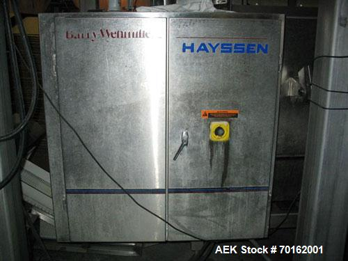 Used- Hayssen Ultima ST Model 12-19HR Vertical Form Fill and Seal Machine capable of speeds up to 100 pouches per minute. Ha...
