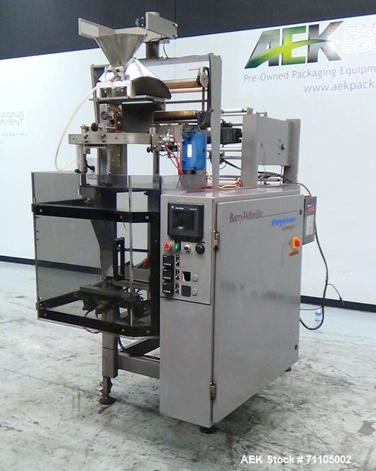 Used- Hayssen Model 602 Vertical Form, Fill & Seal Machine