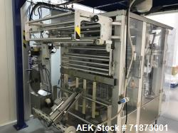 Used- Bosch Vertical Bagging Machine, Model SVE 3600 WR. 80 bags/min. Mfg. 2009.  Connected electrical load :14Kva,230/400 V...