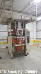 Used-ESSEGI F 1000 Vertical Form Fill and Seal bagger. Max bag size, 470mmx 680mm,  weight range of 0.5# to 11# fills.  Prod...
