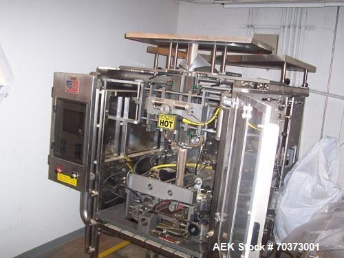 Used-Pacmac 9500 Form Fill and Seal Machine.