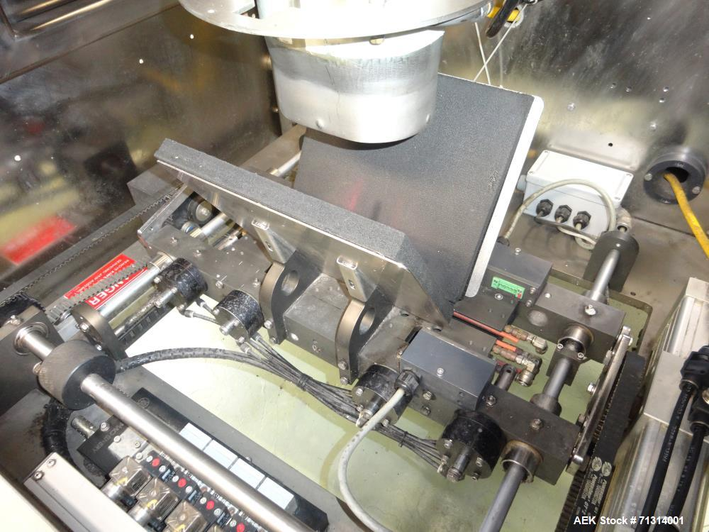 Used- Pacmac Model 9500 Vertical Form, Fill, and Seal Machine