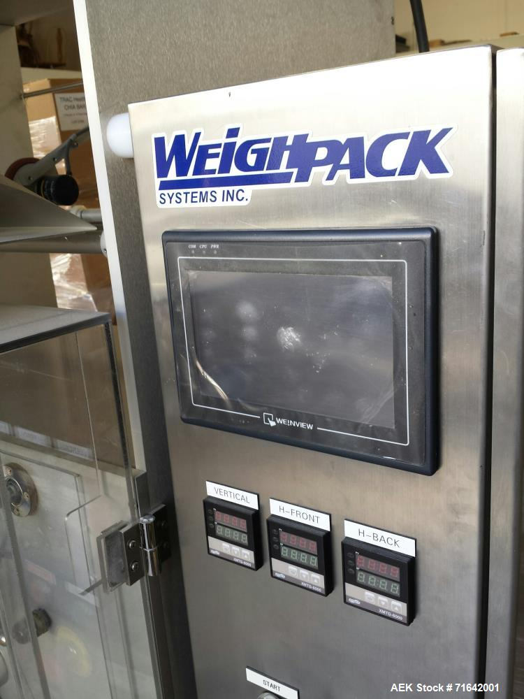 Used- WeighPack Systems Model Vertek 1150 Vertical Form Fill and Seal Machine.