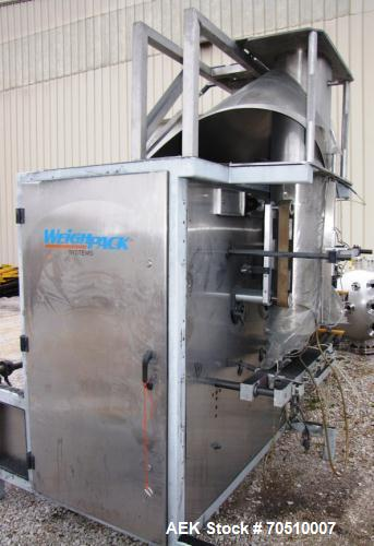 Used-Weighpack Vertek 2200 Vertical Form, Fill and Seal Machine