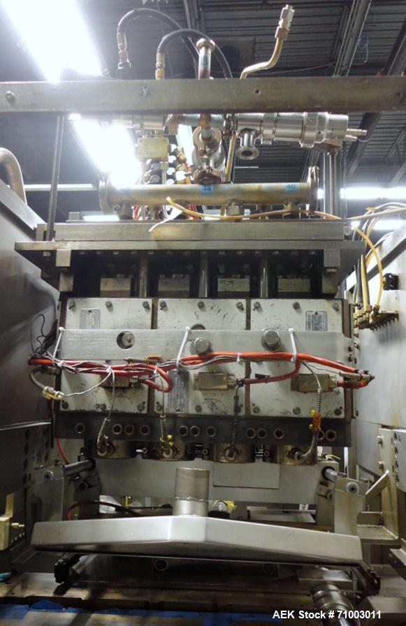 Used- Rommelag Model 360M BFS Blow Fill Seal Machine.