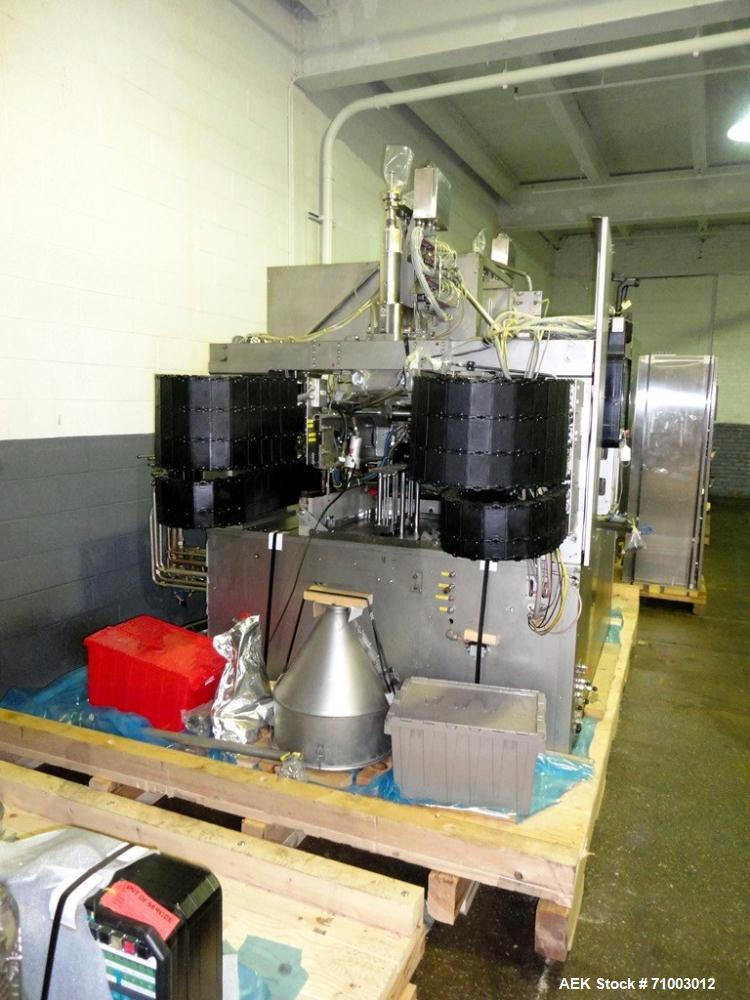 Used- Rommelag Model 360M BFS Blow Fill Seal Machine