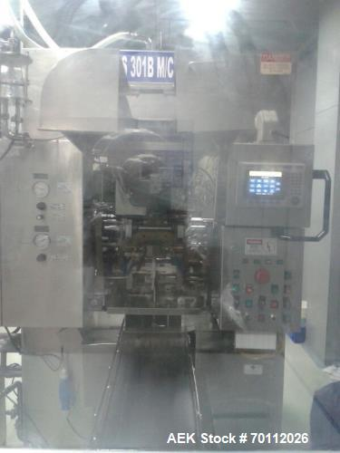 Used- Weiler Blow Form and Seal machine, Model 301. Machine has 10 cavities and is suitable for 1ml  10ml. Ideal for WFI (Wa...
