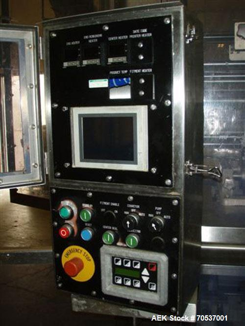 Used- Cryovac Model 2002B Vertical Form Fill and Seal Machine