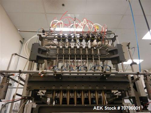 Used-Hassia Model SVL 20 / 308 Lane Stick Pack Machine. Machine was designed to run at 400 stick packs per minute. 8 Lane fo...
