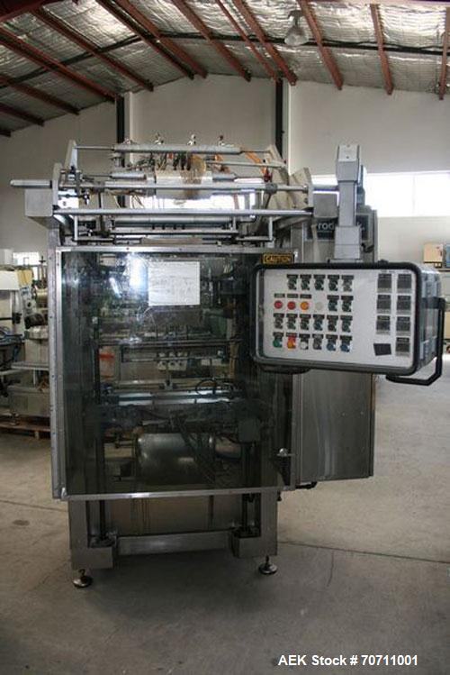 Used-Form Fill and Seal Machine, Prodo Pak, Model 601-TW-4