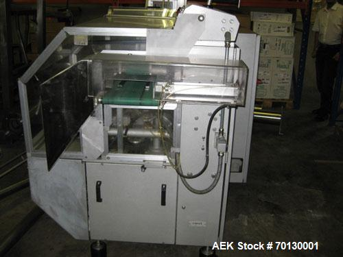 Used-Forpack Bag/Cartoner Line, type MG-2, consisting of (1) Forpack bag making machine, type M120, 6 bands. Single bag 2.54...