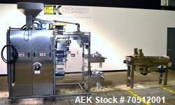 Used- Wrap Ade Model VSP 6R2 Vertical Strip Packaging Machine