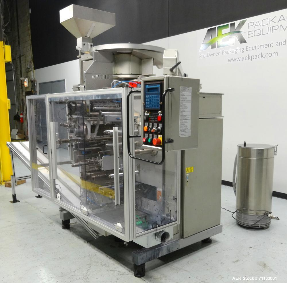 Used- Siebler Model HM1/290 Vertical Strip Packaging Machine