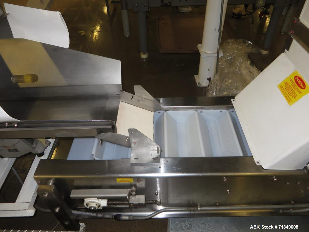 Used-Bosch Model SVE2510 Vertical form fill and seal packaging system with Allen-Bradley Control Logix 5555 controls, 14 hea...