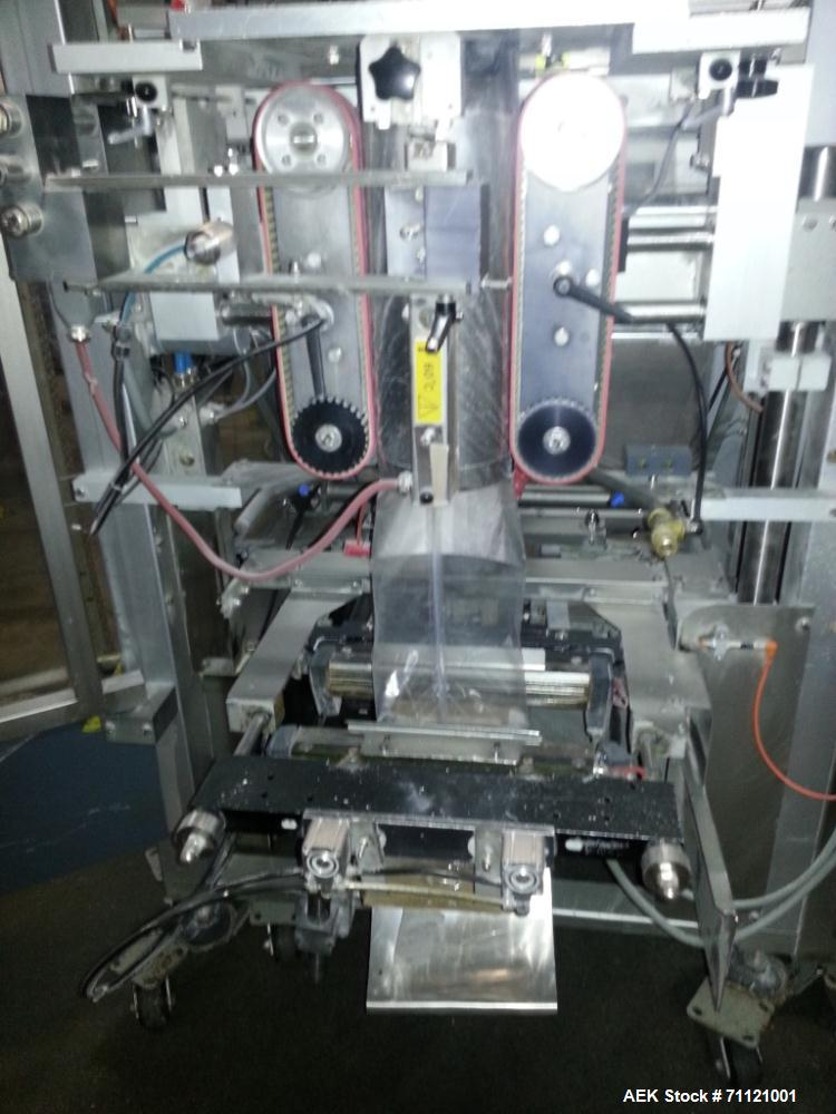 Used- Bosch Vertical Form Fill Seal Machine, Model SVK3600L.