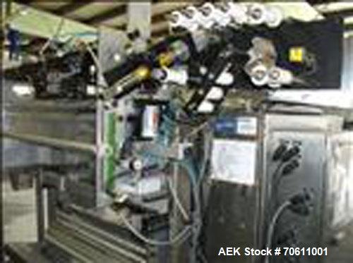 Used-Eagle Infinity Model 1016 Vertical Form Fill and Seal Machine. Machine is capable of speeds up to 100 bags per minute. ...