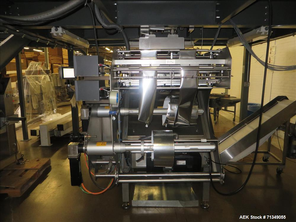 Used- GEA Smartpacker Twin C High Speed Form Fill Seal Machine