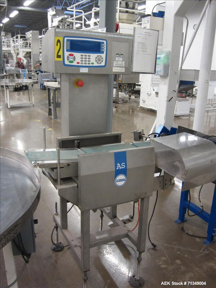 Used- Hayssen Ultima CMB12-16 Vertical Form Fill Seal Packaging System