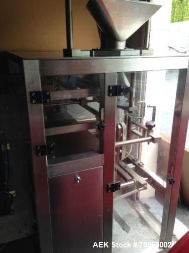 """Used-JDA Packaging Equipment Vertical Form, Fill and Seal Machine, Model 2100.  Seal up to 18"""" vertical and up to 22"""" roll o..."""