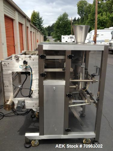 "Used-JDA Packaging Equipment Vertical Form, Fill and Seal Machine, Model 2100.  Seal up to 18"" vertical and up to 22"" roll o..."