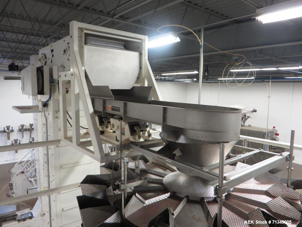 Used- Matrix Vertical Form, Fill and Seal Bag Packaging Line (Matrix)
