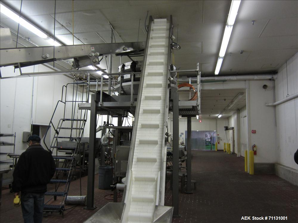 Used- Matrix Packaging Model 201318WXXPIX Vertical Form Fill and Seal Bagger