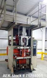 Used-ESSEGI F 1000 Vertical Form Fill and Seal Packager with JEM Triplex Scales. Max bag size, 470mmx 680mm,  weight range o...