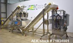 Used- WeighPack Systems Model Vertek 1150 Vertical Form and Fill Machine