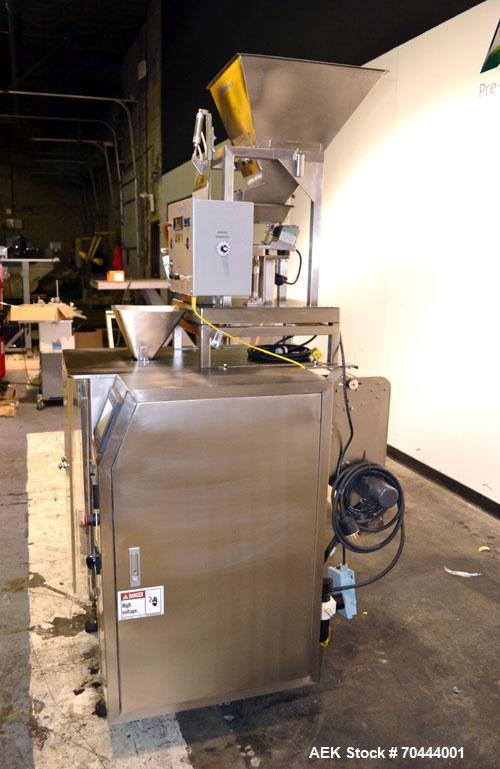 Used- Weighpack Vertek Jr. Vertical Form Fill Seal Machine