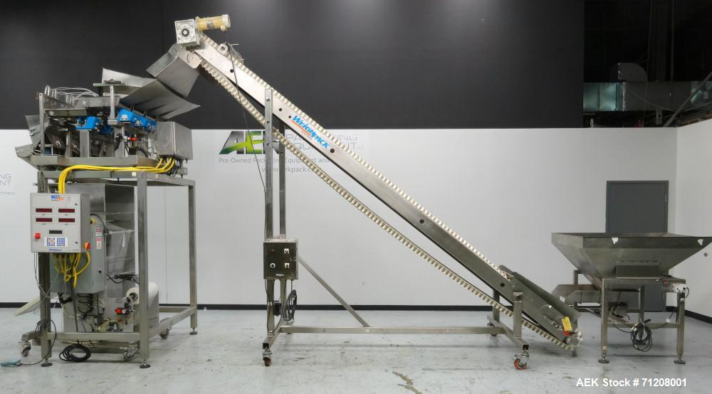 Used- Weighpack Model Vertek 1150 Form, Fill & Seal Packaging Machine