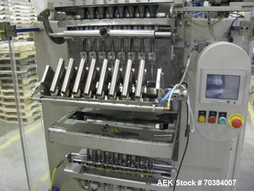 "Used- Aranow, Model Arafrom 8 Vertical Form Fill Seal ""Stickpack"" Machine"