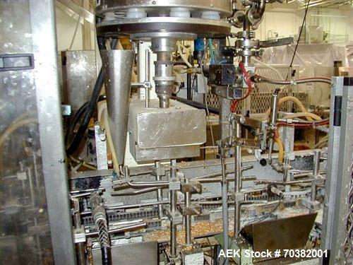 Used-Used: Microwave popcorn Bartelt. Magazine feed, oil, volumetric and salt feed station included