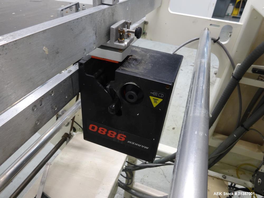 Used- Hayssen Ultima Model 95-16 HR Vertical Form Fill Seal Machine