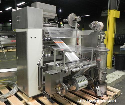 Used- Universal Pack Alpha Stick Pack Pouch Packaging Machinery