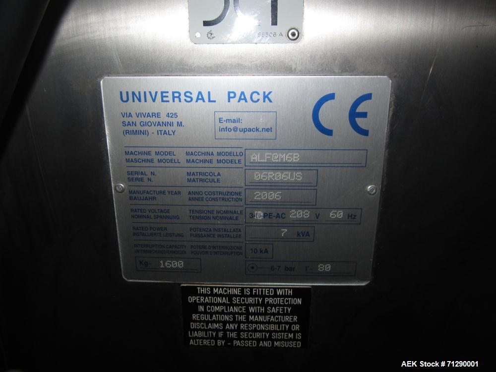Used- Universal Pack Model Alfa M6B Stickpack Machine