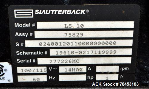 Used- Slaughterback LS10 Squirt Hand Held Hot Melt Glue System