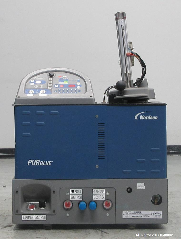 Used- Nordson PURBlue 4 SP Adhesive Melter.