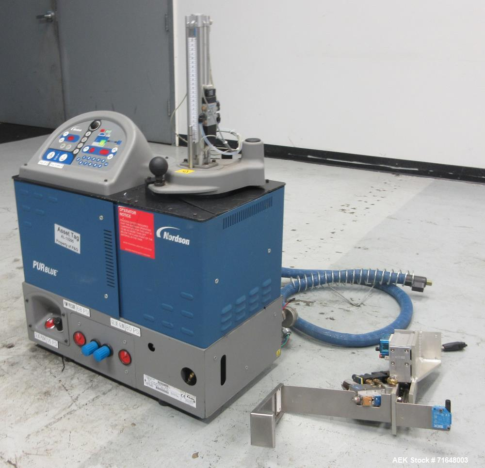 Used- Nordson PURBlue 4 SP Adhesive Melter