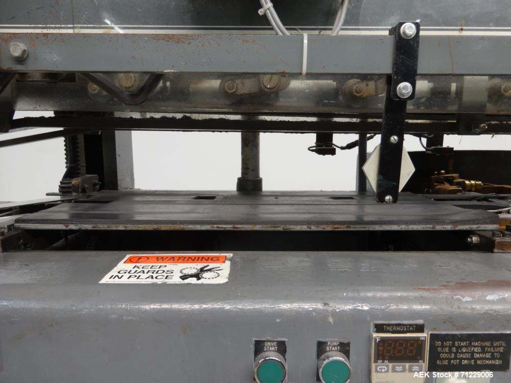 Used- Mateer-Burt (GEI) Model 704SB MK V-LH Horizontal Roll-Through Labeler