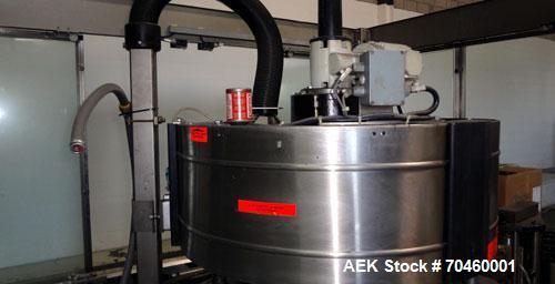 Used- Krones Model Canmatic Wraparound Hot Melt Glue Labeler