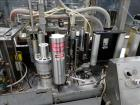 Used- Trine Model 5500G/S High Speed Roll Feed  Wraparound Hot Melt Labeler