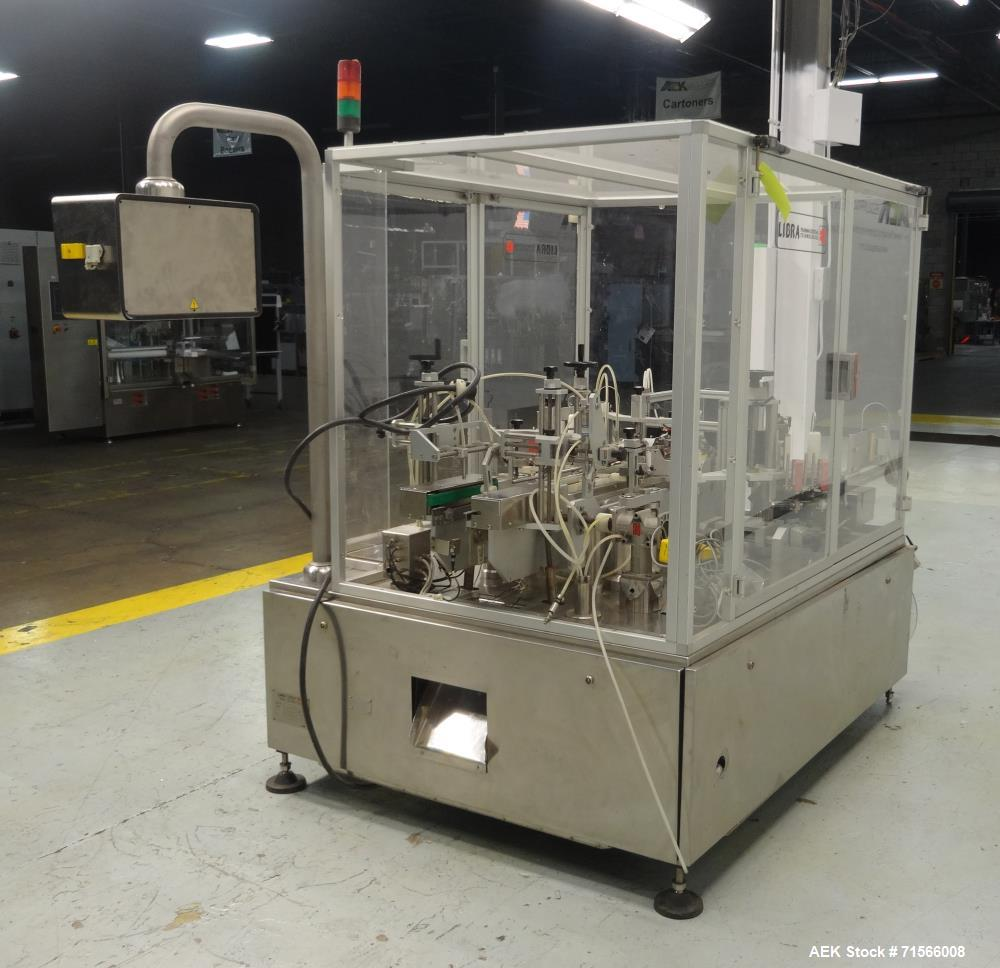 Used- Libra (IMA) Model SE300TE Front and Back Pressure Sensitive Tamper Evident